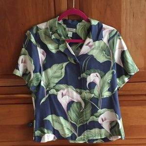 Tommy Bahama Hawaiian Top